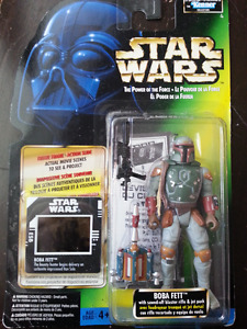 1997 - Boba Fett with Sawed-off Blaster R i f l e and Jet Pack