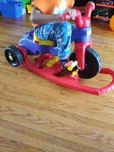 LEARN TO PEDAL TIKES CONVERTABLE TO ROCKER Kitchener / Waterloo Kitchener Area image 5