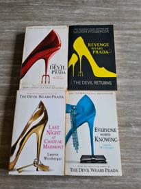 Lauren Weisbergers the devil wears prada plus three other books