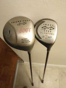 Rare Snake Eyes #1/#3 Woods in excellent shape