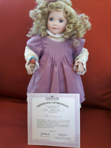 Porcelain Doll with Stand