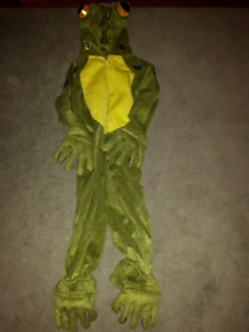 Plush Frog costume size 4 T