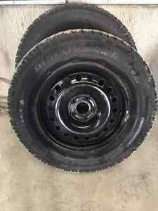 Winter Tires / Snow Tires and Rims for Jeep Wrangler 255/70R18