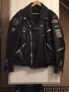 Hein Gericke Cafe Racer Leather Jacket