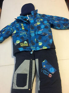 2 year old boy snow suit