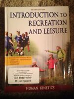 Introduction to Recreation and Leisure; Second Edition