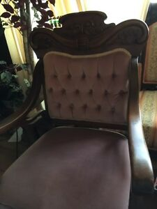 Pair of Eastlake Antique Chairs London Ontario image 1