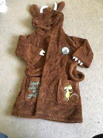 Gruffalo dressing gown