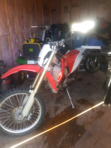 2009 crf250.trade for skidoo or street bike