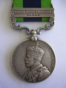 MEDAL India G.S.M. North West Frontier 1935