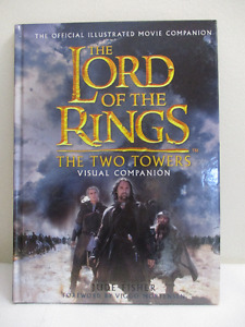 Lord of the Rings The Two Towers Visual Companion - Like New