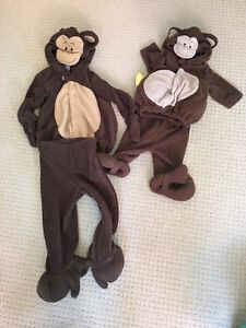 Monkey Halloween Costumes (0-6M and 2T/3T)