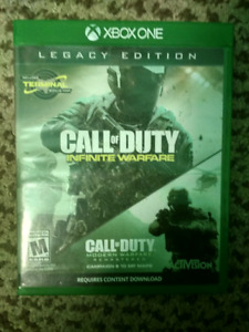 Call of duty Infinate warfare / call of duty 4 remastered