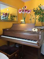 Piano et/ou chant - 30$/hr.