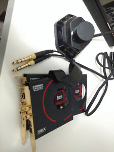 Creative Labs ZXR - PCIE Gaming Sound Card