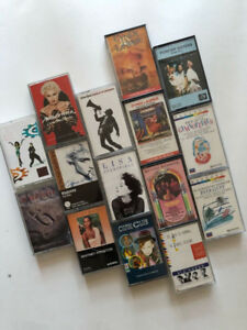 80s and 90s Casette Tapes