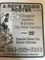 Sewer and drain cleaning ,  drain cleaning rooter service