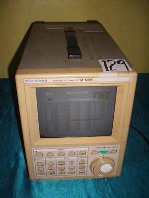 Ono Sokki Cf-4210a Cf4210a Personal Fft Analyzer