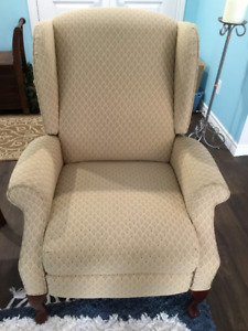 Wing back Chair - Reclining
