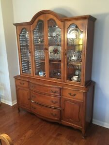 Solid fruitwood Canadian Knechtel French Provincial furniture
