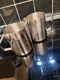 Stainless steel Milk jugs