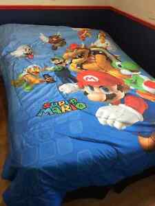 Mario Bros bedding set