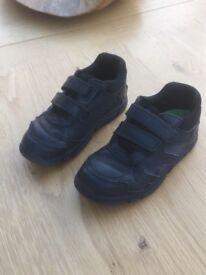 Boys school shoes. Clarks size 12F
