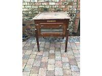 Old Farm Egg Incubator Wooden Cabinet - Rare Genuine Barn Find