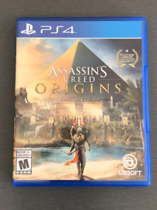 Assassin's Creed Origins PS4 - Comme neuf
