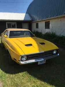 1972 Ford Mustang Big Block