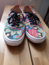 Special edition Vans skate shoes