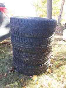 195/65/15 Winter Studded Tires