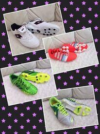 Football Boots Size 4 & 5 UK