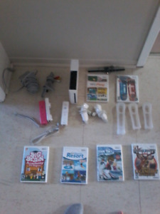 Wii 60$ comes with 6 games it works