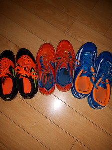 Kids' Soccer Cleats - sizes 2, 3, and 5