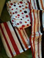 Ensemble de draps colorés - lit simple