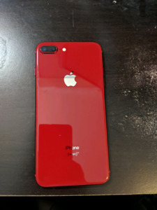 Unlocked iPhone 8 Plus 64GB Product Red $675 OBO