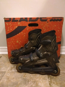 Womens Rollerblades with New Spare Brakes and Bearings