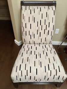 2 large sitting chairs