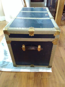Antique Steamer Trunk from 1900