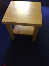 Wooden tea table