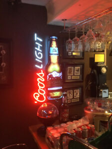 Coors Light Neon sign ***-SOLD-***