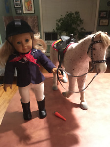 American Girl Doll, Horse, Cat, Clothes & Accessories