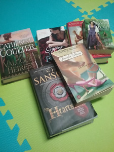 Collection of 6 Romance/Adventure Novels
