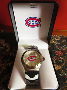 """Montreal Canadians """"Game Time"""" Male Watch (NEW)"""