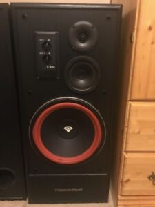 Cerwin-Vega speakers & stereo