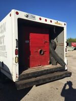 Duct cleaning truck Vacuum, hoses compressor for sale