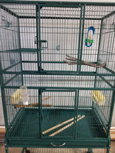 Bird Flight Cage with Stand