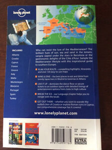 Lonely Planet Mediterranean Europe Kingston Kingston Area image 4