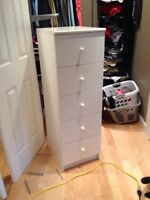 5 drawer upright chest